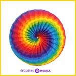 multi color torus donut