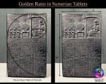 tablet of Shamash – golden ratio 01