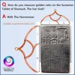 Sumerian tablets – phi ratio