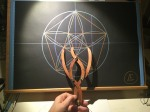 sacred geometry drawing with golden ratio 03