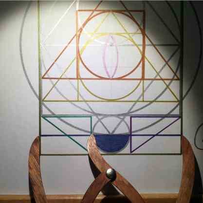 sacred geometry drawing with golden ratio 14