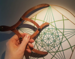 sacred geometry drawing with golden ratio 18