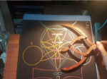 sacred geometry drawing with golden ratio 27