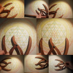 sacred geometry drawing with golden ratio 30