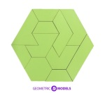 Hexagon Puzzle 2D