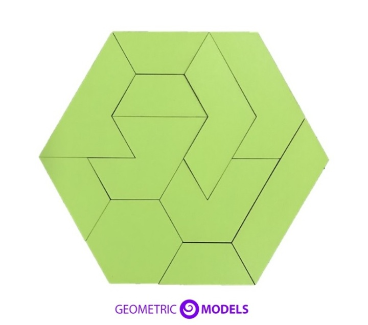 Hexagon Puzzle 2D