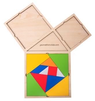 Pythagorean theorem - Pythagorean triangle 04