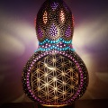 Flower of Life – night view –front