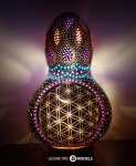 Flower of Life – night view – front