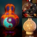 Gourd Lamps – Geometric Models dotCom