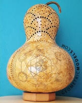 Metatrons gourd - front - day view