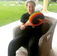 Cagla is an art therapist with her new torus