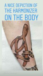 Harmonizer tattoo.