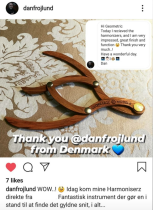 Message from Denmark about the Harmonizer